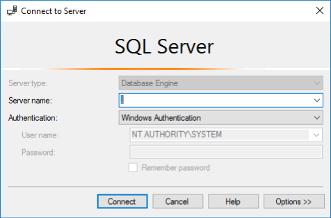Connecting to sql server with NT AUTHORITY\SYSTEM Account