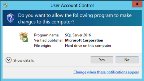 How to add a new named instance in SQL Server, User Account Control