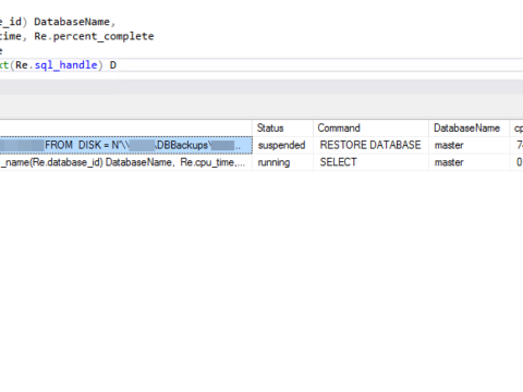 How To: SQL Server job progress check