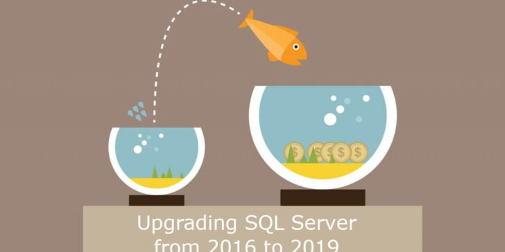 Upgrading SQL Server from 2016 to 2019